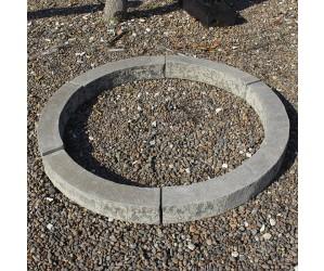 Granit ring, bål, træ, hyggelig stemning