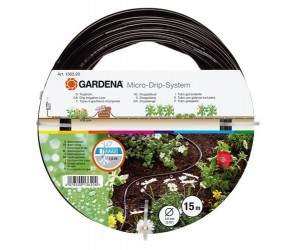 Drypslange o/jorden 4,6 mm u/koblinger 1362 Gardena