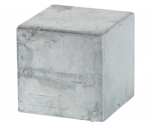 17926-1 Cubic stolpehætte 97x97 mm
