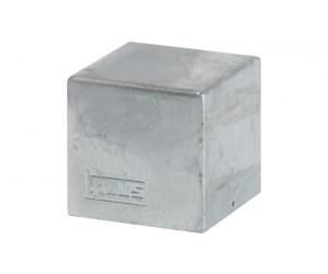 17935-1 Cubic stolpehætte 71x71 mm