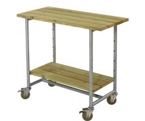 Urban picnic plante/grillbord med 1 hylde