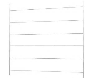 17965-1 Cubic espalier wirepakke