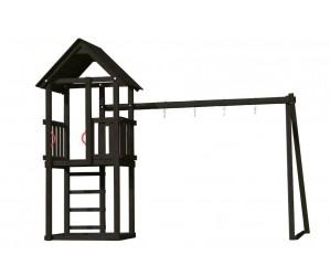 Legetårn med gyngepåbygning Plus
