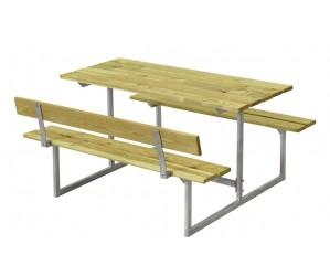 Basic børne bord og bænkesæt