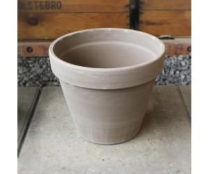 Moccafarvet, skjuler, keramik, rund