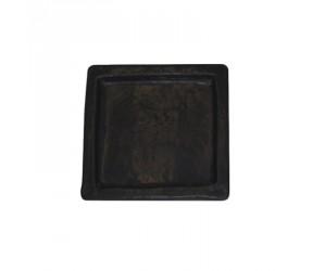 Mørkegrå underskål firkantet
