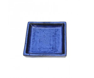 Blå underskål firkantet