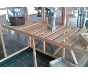 Træbord til Classic 7,2 m2