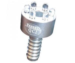 LED 6 Vandstensring Hvid U/trafo