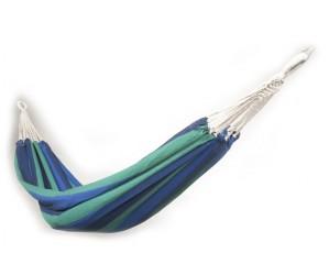Hængekøje blå og grøn
