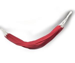 Rød hængekøje
